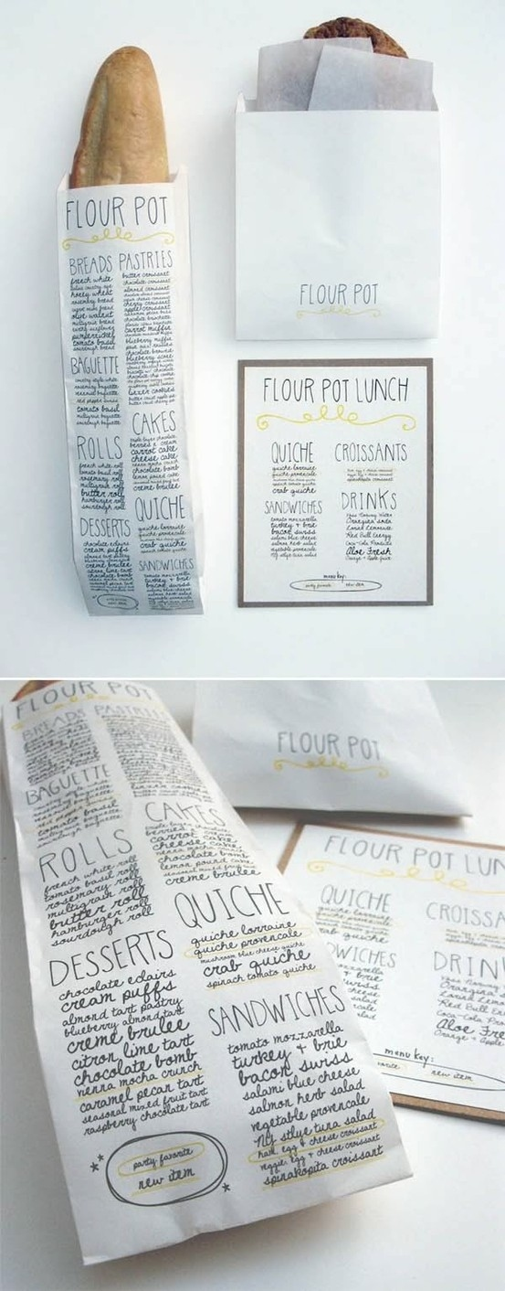 Flour Pot's Bread Packaging