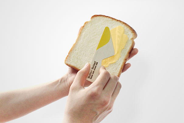 Clever butter packaging