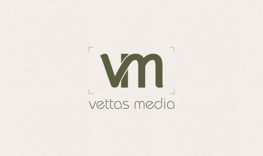 Vettas Media Logo Design